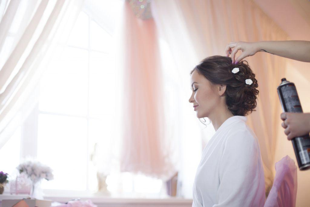 idee capelli acconciatura sposa mama casa in campagna