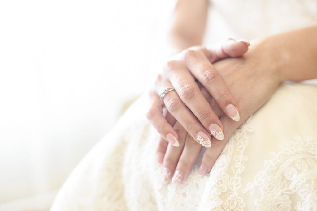 manicure sposa mama casa in campagna