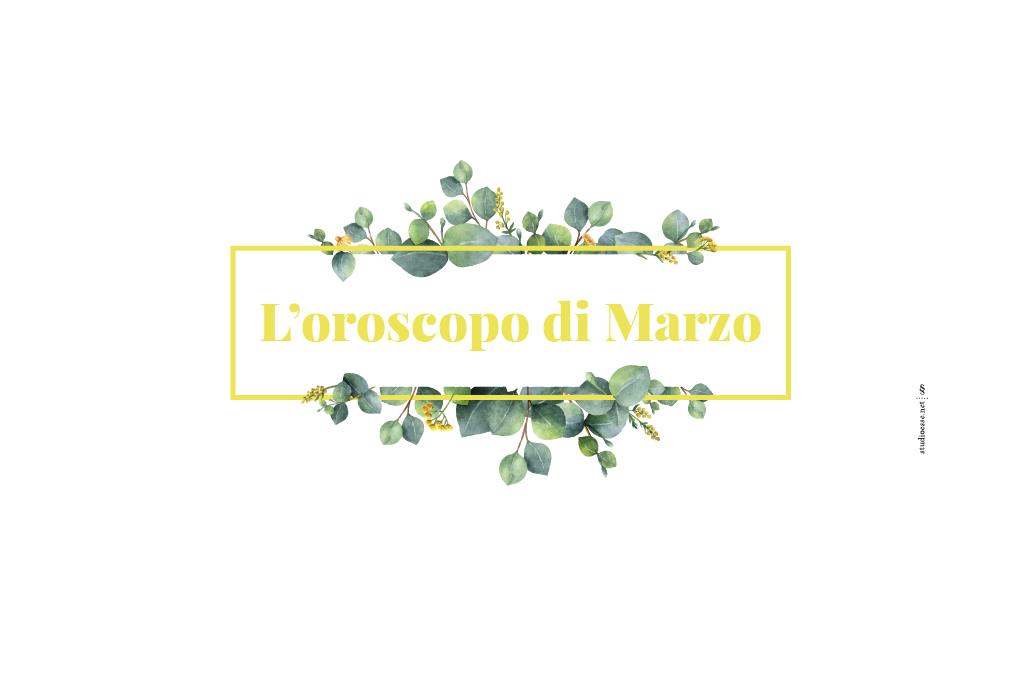 Oroscopo spose marzo 2018