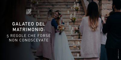 Galateo del matrimonio: 5 regole che forse non conoscevate