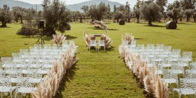 Il matrimonio civile nel Giardino delle Cerimonie da mama casa in campagna